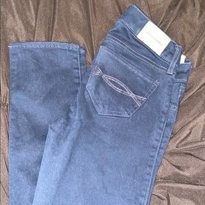 NAVY BLUE ABERCROMBIE Kids JEANS SIZE 12 girls